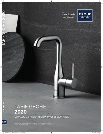 Grohe catalogue publicitaire (valable jusqu'au 31-12)