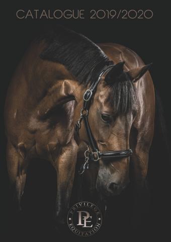 Privilège Équitation catalogue publicitaire (valable jusqu'au 31-12)