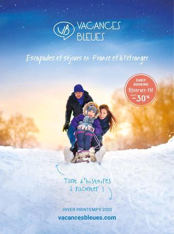 Vacances Bleues catalogue publicitaire (valable jusqu'au 31-12)