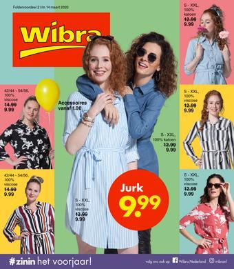 Wibra reclame folder (geldig t/m 14-03)