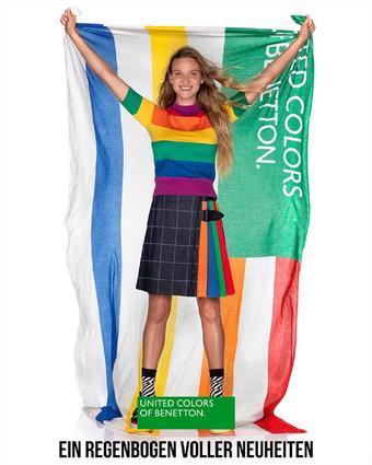 United Colors Of Benetton Werbeflugblatt (bis einschl. 28-04)