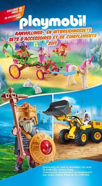 Playmobil reclame folder (geldig t/m 31-12)