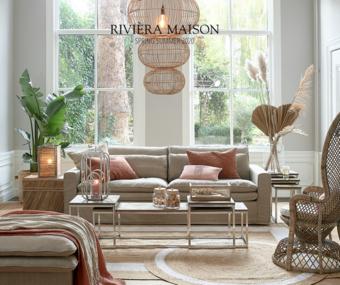Rivièra Maison reclame folder (geldig t/m 31-07)