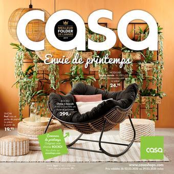 Casa catalogue publicitaire (valable jusqu'au 29-03)