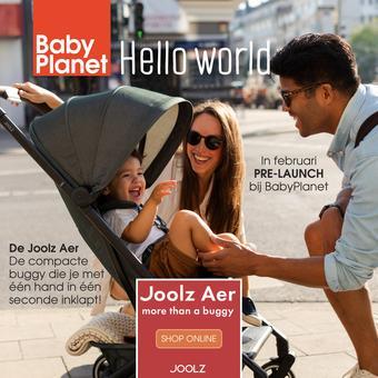 Babyplanet reclame folder (geldig t/m 30-04)