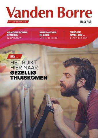 Vanden Borre reclame folder (geldig t/m 30-04)