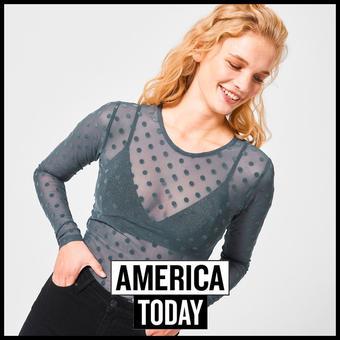America Today reclame folder (geldig t/m 20-04)