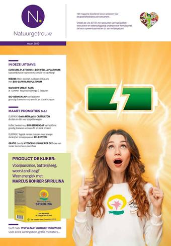 Mannavita reclame folder (geldig t/m 31-03)