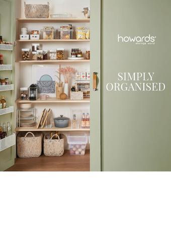Howards Storage World catalogue (valid until 01-03)