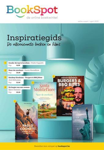 Bookspot reclame folder (geldig t/m 30-04)