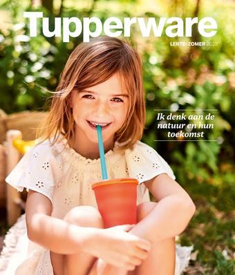 Tupperware reclame folder (geldig t/m 31-08)