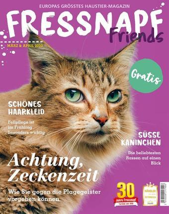Fressnapf Werbeflugblatt (bis einschl. 30-04)