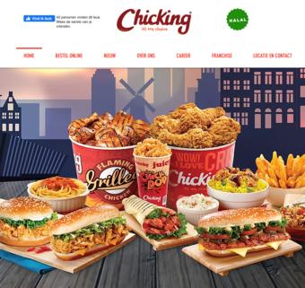 Chicking reclame folder (geldig t/m 31-12)