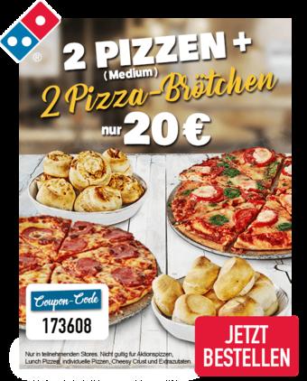 Domino´s Pizza Prospekt (bis einschl. 31-03)