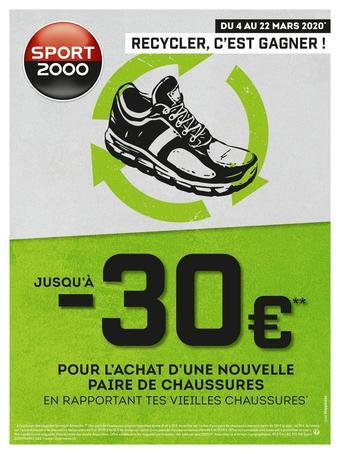 Sport 2000 catalogue – Toutes les promotions dans les