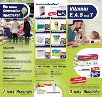 Easy Apotheke Prospekt (bis einschl. 31-03)