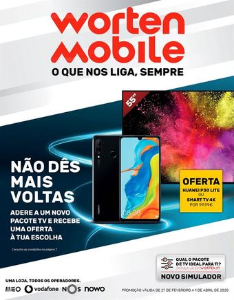 Worten Mobile folheto promocional (válido de 10 ate 17 01-04)