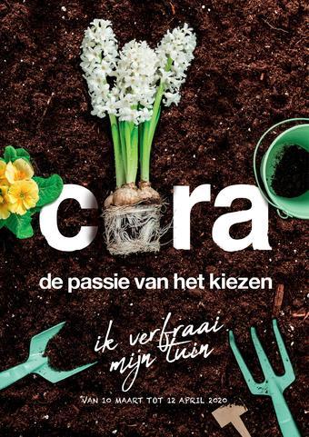 Cora reclame folder (geldig t/m 12-04)