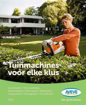 AVEVE reclame folder (geldig t/m 30-06)
