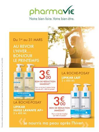 PharmaVie catalogue publicitaire (valable jusqu'au 31-03)
