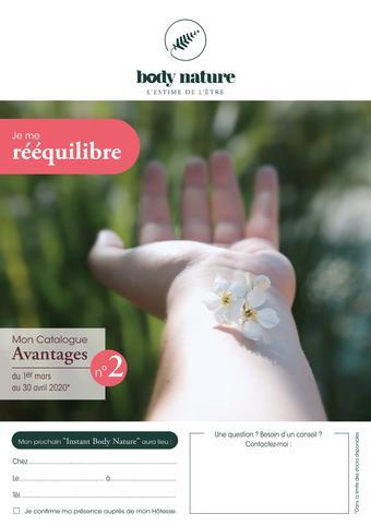 Body Nature catalogue publicitaire (valable jusqu'au 30-03)