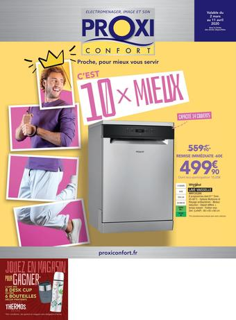 Proxi Confort catalogue publicitaire (valable jusqu'au 11-04)