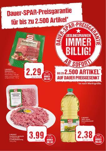 Spar Werbeflugblatt (bis einschl. 04-06)