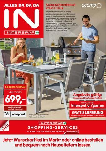 Interspar Werbeflugblatt (bis einschl. 31-08)