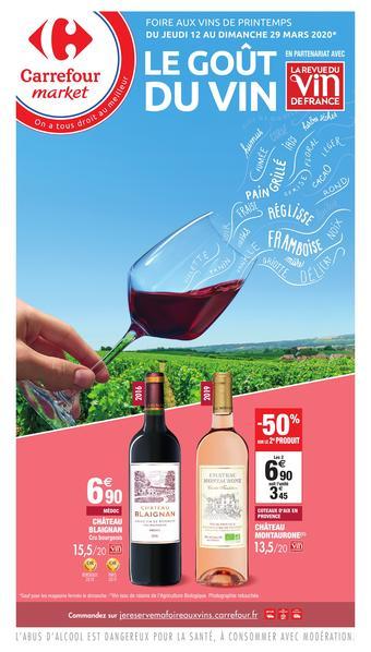 Carrefour Market catalogue publicitaire (valable jusqu'au 29-03)