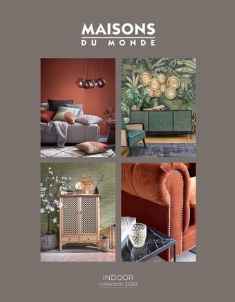 Maisons du Monde catalogue publicitaire (valable jusqu'au 30-09)