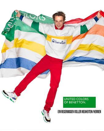 United Colors Of Benetton Werbeflugblatt (bis einschl. 30-04)