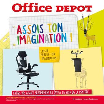 Office Depot catalogue publicitaire (valable jusqu'au 16-08)