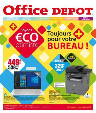 Office Depot catalogue publicitaire (valable jusqu'au 31-03)