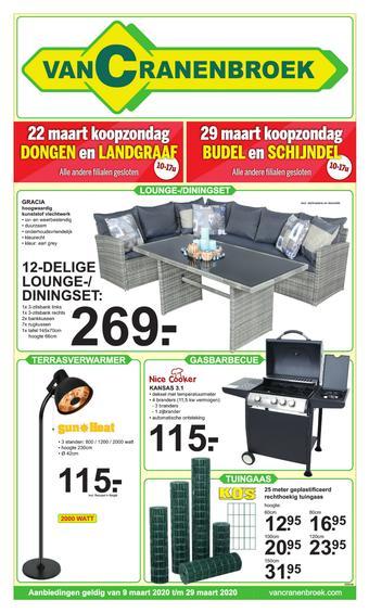 Van Cranenbroek reclame folder (geldig t/m 29-03)