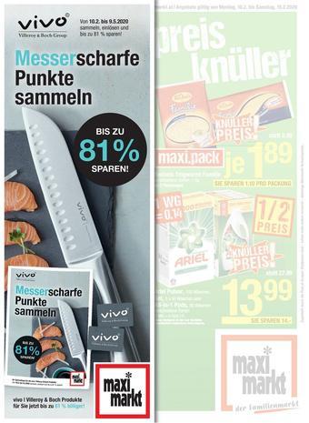 Maximarkt Werbeflugblatt (bis einschl. 09-05)