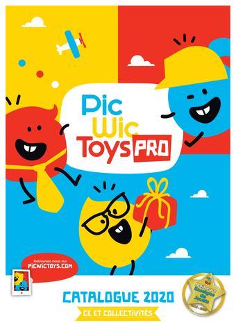 PicWicToys catalogue publicitaire (valable jusqu'au 30-04)