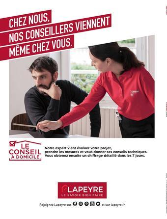 Lapeyre catalogue publicitaire (valable jusqu'au 31-08)