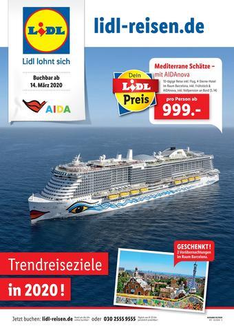 Lidl Reisen Prospekt (bis einschl. 14-04)