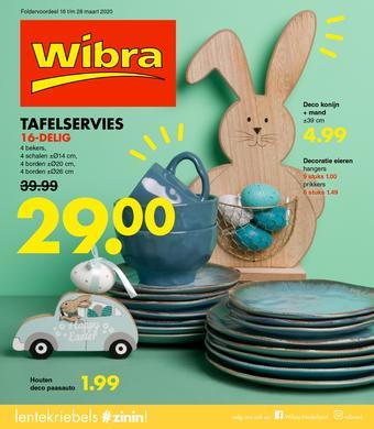 Wibra reclame folder (geldig t/m 28-03)