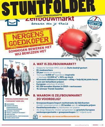 Zelfbouwmarkt reclame folder (geldig t/m 06-04)