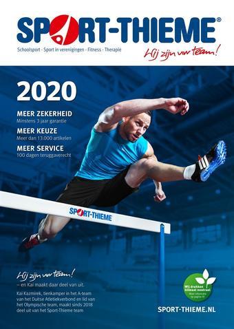 Sport-Thieme reclame folder (geldig t/m 31-12)