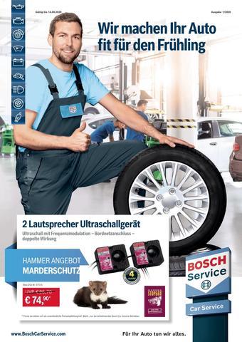 Bosch Car Service Prospekt (bis einschl. 14-04)