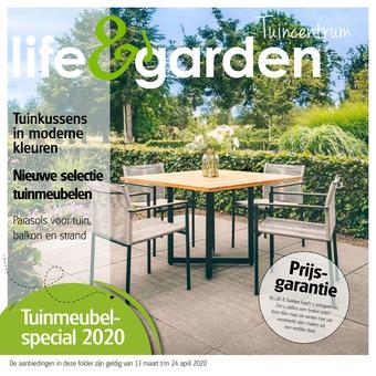 Life & Garden reclame folder (geldig t/m 24-04)