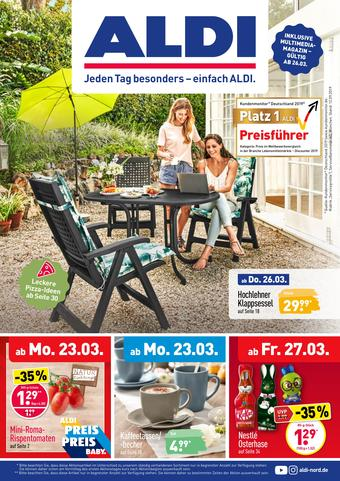 Aldi Nord Prospekt (bis einschl. 28-03)