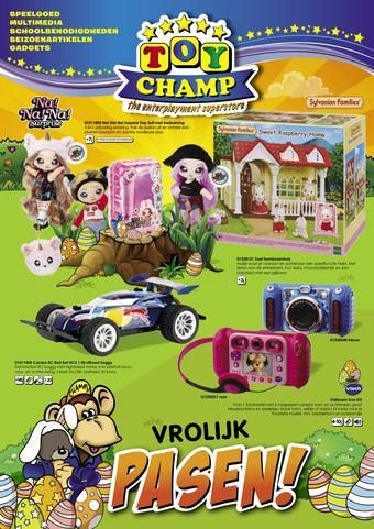 ToyChamp reclame folder (geldig t/m 05-04)