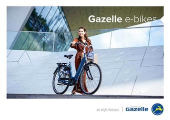 Gazelle reclame folder (geldig t/m 31-12)