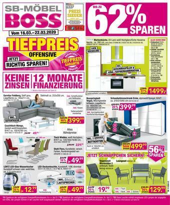 Möbel Boss Prospekt (bis einschl. 29-03)