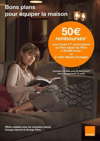 Orange catalogue publicitaire (valable jusqu'au 08-04)