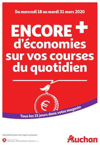 Auchan catalogue publicitaire (valable jusqu'au 31-03)