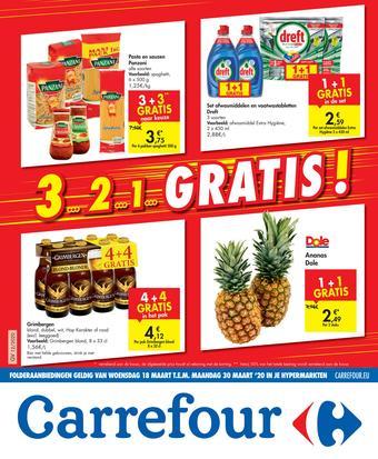 Carrefour reclame folder (geldig t/m 30-03)